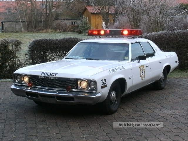 Plymouth  Fury Police Car Cop Car 1974 Vintage, Classic and Old Cars photo