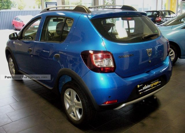 2012 dacia sandero stepway tce 90 prestige car photo and specs. Black Bedroom Furniture Sets. Home Design Ideas
