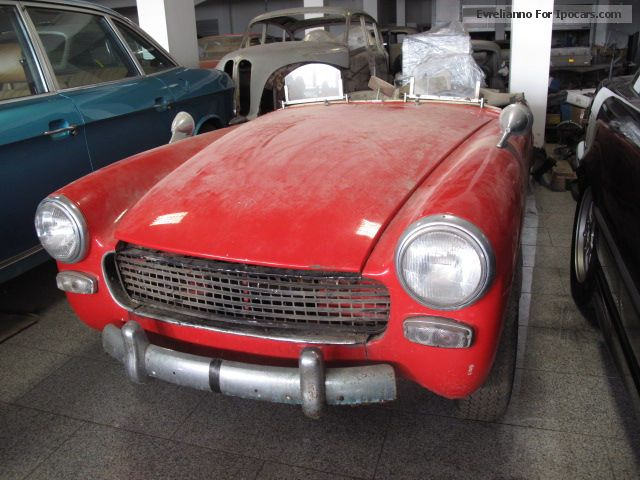 Austin  Sprite Mark II * Restoration * object Bj. 1964 1964 Vintage, Classic and Old Cars photo
