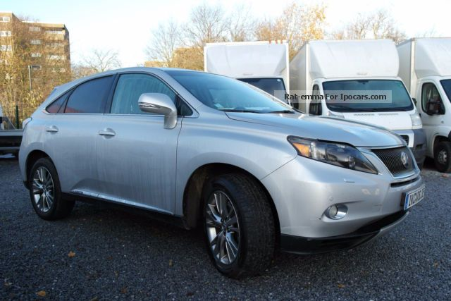 Lexus  RX 450h (hybrid) 4WD net: 22.000 € 2011 Hybrid Cars photo