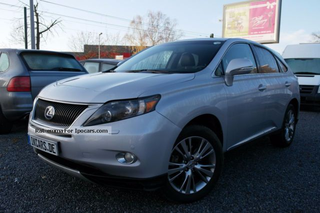 2011 Lexus RX 450h (hybrid) 4WD net: 22.000 € - Car Photo ...