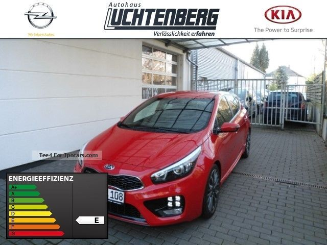 2014 Kia  Cee'd 1.6 TGDi GT-Track Climate Xenonsche Saloon Demonstration Vehicle photo