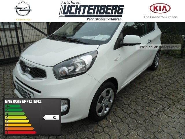 2014 Kia  Picanto 1.0 Edition 7 Air conditioning Leather steering wheel s Saloon Used vehicle photo