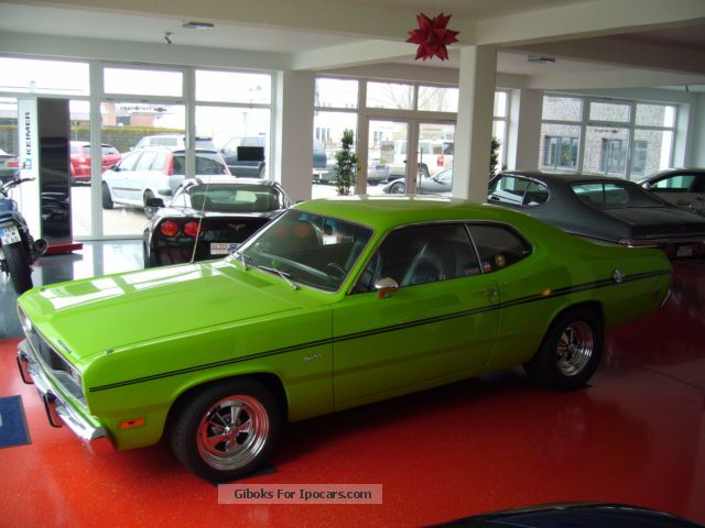 Plymouth  Duster 5.3 ltr. V8 1969 Vintage, Classic and Old Cars photo