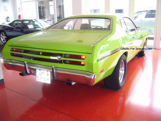 1969 Plymouth Duster 5 3 Ltr V8 Car Photo And Specs