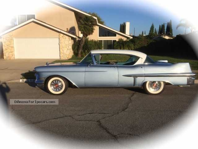 Cadillac  sedan hardtop coupe 1957 Vintage, Classic and Old Cars photo