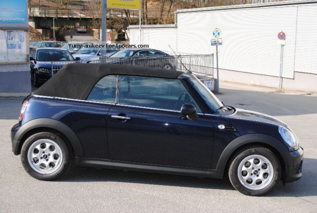 2013 mini cooper convertible car photo and specs. Black Bedroom Furniture Sets. Home Design Ideas