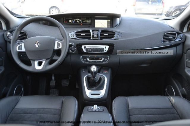 2012 renault grand scenic 1 6 dci 130 iii initial initial. Black Bedroom Furniture Sets. Home Design Ideas