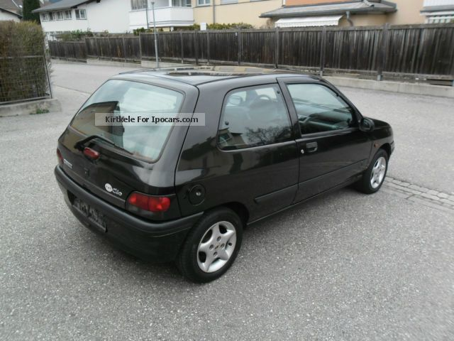 1997 renault clio 1 9 diesel campus car photo and specs. Black Bedroom Furniture Sets. Home Design Ideas