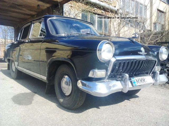 1961 GAZ 20 Volga - GAZ M21 Volga - Car Photo and Specs