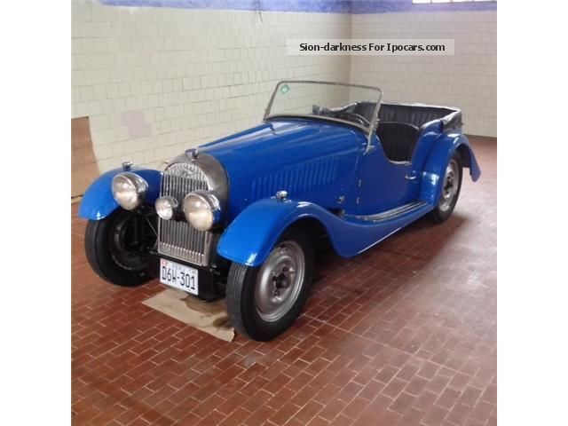 1938 Morgan  4/4 4 SEATER 1100 Cabriolet / Roadster Classic Vehicle photo