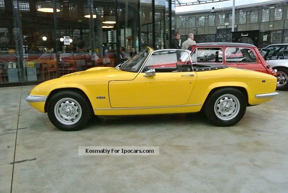 Lotus  Elan S4 SE 1970 Vintage, Classic and Old Cars photo