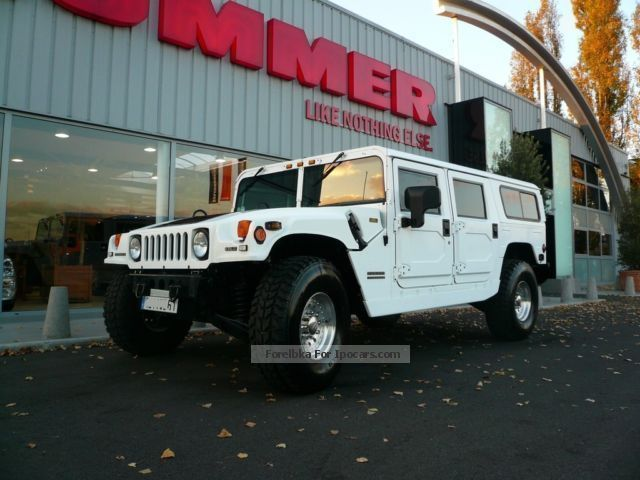 2001 Hummer  H1 6.5 D V8 ALPHA OPEN TOP Off-road Vehicle/Pickup Truck Used vehicle( Accident-free) photo
