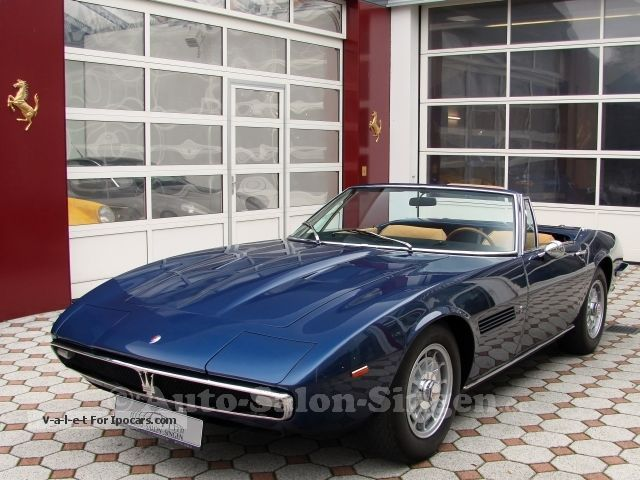 Maserati  Ghibli Spyder 4.7 Ghibli Spider by Carrozzeria C 1971 Vintage, Classic and Old Cars photo