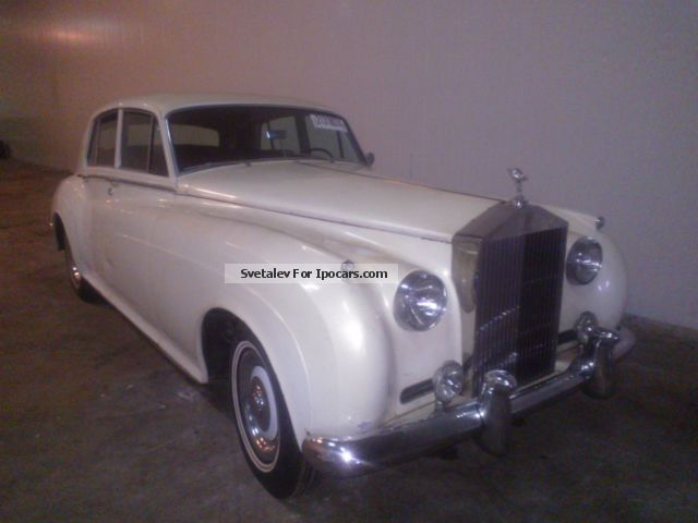 Rolls Royce  Rolls-Royce Silver Seraph 1961 Vintage, Classic and Old Cars photo