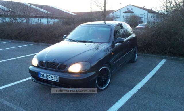 Daewoo  Lanos Sport 1.5. - TUNING! new Borbet 17 \u0026 quot; Alu 2002 Tuning Cars photo