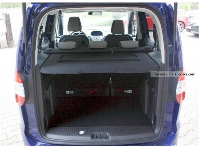 2014 ford tourneo courier titanium 1 0 ecoboost r ckfahrka car photo and specs. Black Bedroom Furniture Sets. Home Design Ideas