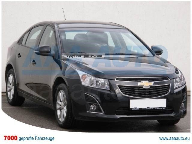 2014 Chevrolet  CRUZE 1.6 i 16V 2014 1.HAND, checkbook Saloon Used vehicle ( Accident-free ) photo