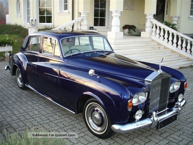 Rolls Royce  Rolls-Royce Silver Cloud 3 !!! Dream - collector condition !!! 1963 Vintage, Classic and Old Cars photo