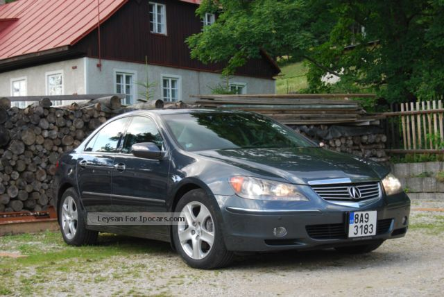 Acura RL Car Photo And Specs - 2006 acura rl a spec