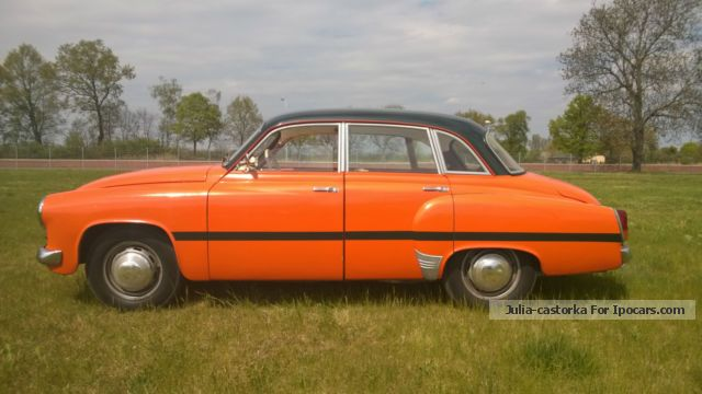 Wartburg  immediately ready to drive, H-mark, TUV until 06:16 1961 Vintage, Classic and Old Cars photo