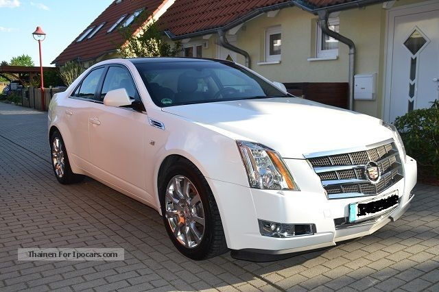 2009 cadillac cts 3 6 v6 sport luxury automatic car. Black Bedroom Furniture Sets. Home Design Ideas