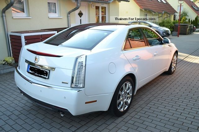 2009 cadillac cts 3 6 v6 sport luxury automatic car photo and specs. Black Bedroom Furniture Sets. Home Design Ideas