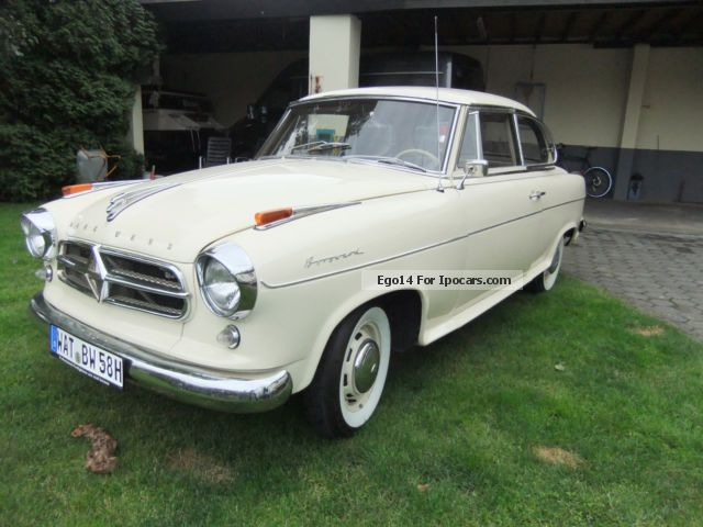 Borgward  Isabella 1958 Vintage, Classic and Old Cars photo