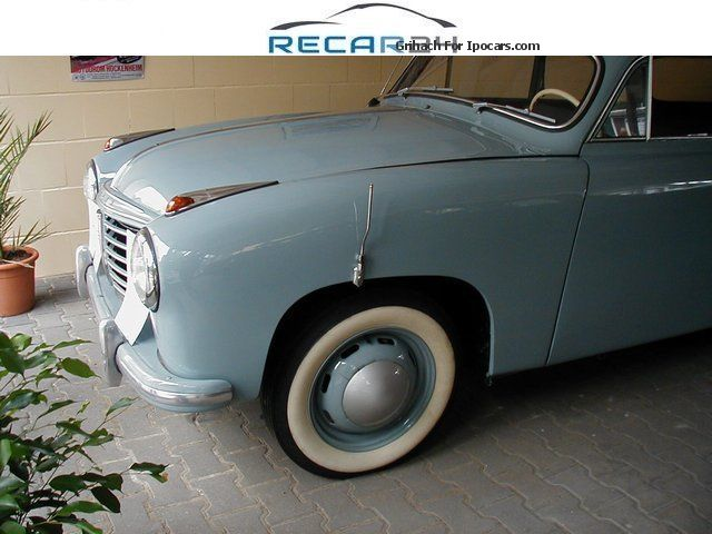 Borgward  Goliath GP700 * restored * Location: 35037 1954 Vintage, Classic and Old Cars photo
