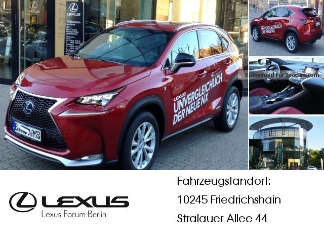 2014 Lexus  NX 300h F-Sport * Premium Navigation * Off-road Vehicle/Pickup Truck Demonstration Vehicle ( Accident-free ) photo