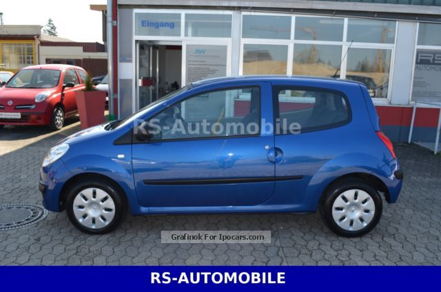 2008 renault twingo 1 2 authentique car photo and specs. Black Bedroom Furniture Sets. Home Design Ideas