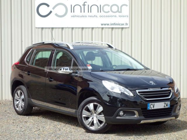 2013 peugeot 2008 1 6 e hdi 92 allure gps car photo and specs. Black Bedroom Furniture Sets. Home Design Ideas