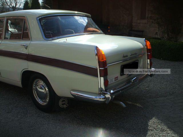 1962 Austin Cambridge A60 De Luxe Lhd Car Photo And