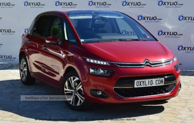 2012 citroen citro n c4 picasso ii 1 6 e hdi 115 exclusive etg6 gps car photo and specs. Black Bedroom Furniture Sets. Home Design Ideas