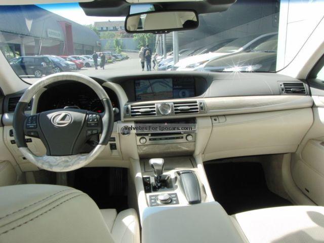 Lexus ls 600h specs