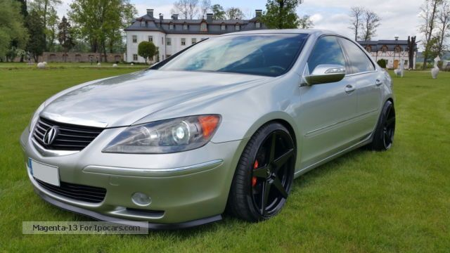 2007 acura rl a spec 2008 model facelift awd 320ps full. Black Bedroom Furniture Sets. Home Design Ideas