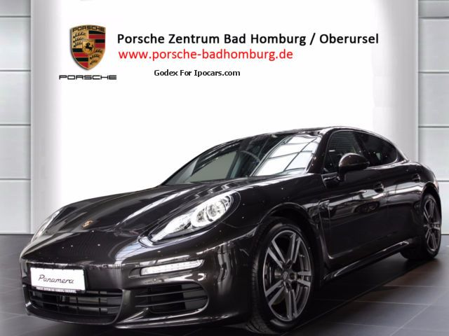 2015 Porsche  Panamera Diesel PASM, BiXenonPDLS, Vfgb.Sept2015 Saloon Demonstration Vehicle ( Accident-free ) photo