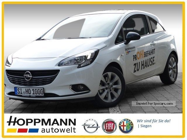 2015 Opel  Corsa D 1.4 Turbo Color Edition Sitzhzg PDC Small Car Demonstration Vehicle photo