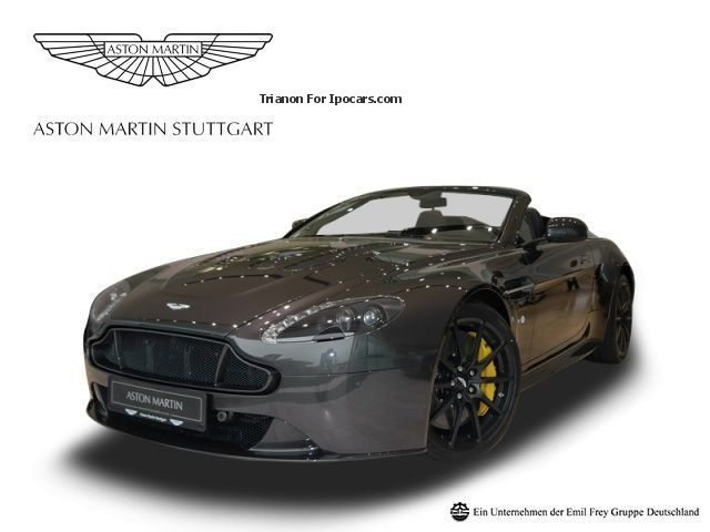 2015 Aston Martin  V12 Vantage S Roadster - UPE 212.000, - Cabriolet / Roadster Demonstration Vehicle ( Accident-free ) photo