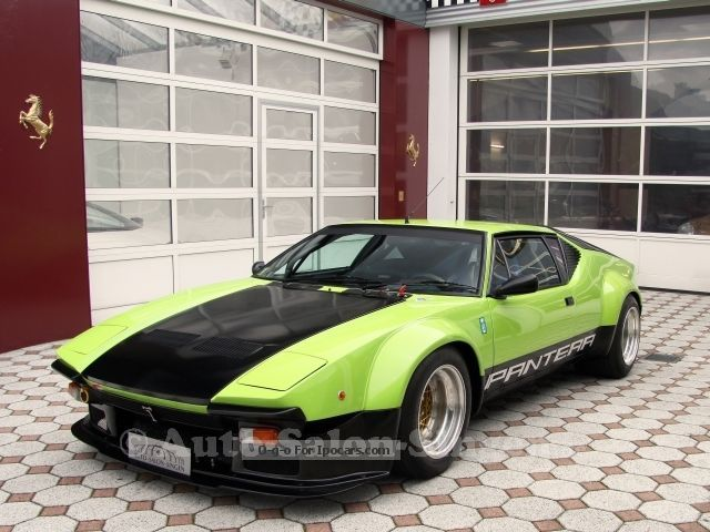 DeTomaso  Pantera group 4 FIA papers + Homologation for road service 1976 Vintage, Classic and Old Cars photo