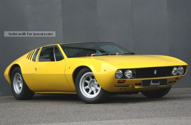 DeTomaso  Mangusta 1969 Vintage, Classic and Old Cars photo