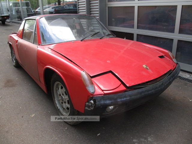 Porsche  914 First Registration 30/03/1971 Restaurationsobjekt 1971 Vintage, Classic and Old Cars photo