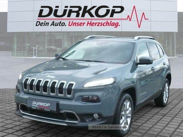 2014 Jeep  Cherokee Limited 2.0 Anvil, 4WD, Xenon, navigati Off-road Vehicle/Pickup Truck Demonstration Vehicle photo