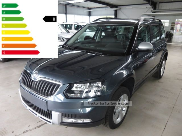2012 Skoda  Yeti Outdoor 1.6 TDI DSG Ambition Plus GreenTec Off-road Vehicle/Pickup Truck Pre-Registration ( Accident-free ) photo