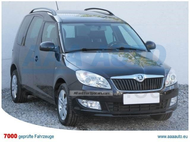 2014 Skoda  ROOMSTER 1.2 TSI 2014 1.HAND, checkbook Van / Minibus Used vehicle ( Accident-free ) photo