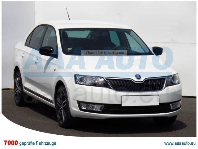 2013 Skoda  RAPID 1.2 TSI 2013 1.Hand, checkbook, XENON Small Car Used vehicle ( Accident-free ) photo