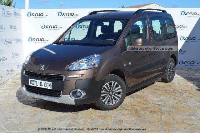 2012 Peugeot  Partner Tepee 1.6 HDI 90 Outdoor + Clim + Régul + LED Estate Car Used vehicle photo
