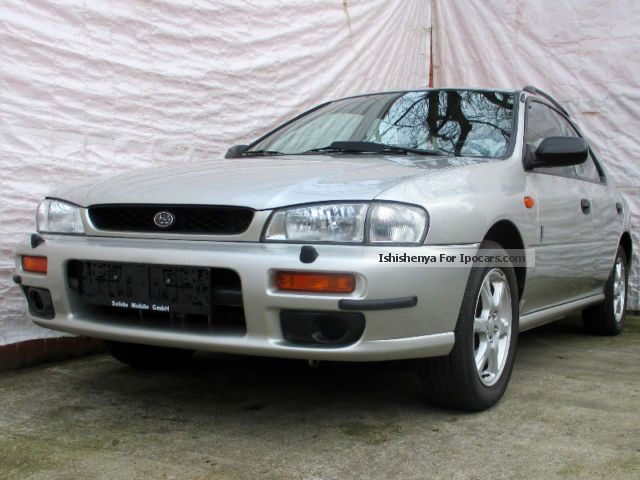 2000 Subaru  Impreza 2.0 20th Anniversary * wheel, 2.Hd., air Estate Car Used vehicle ( Accident-free ) photo