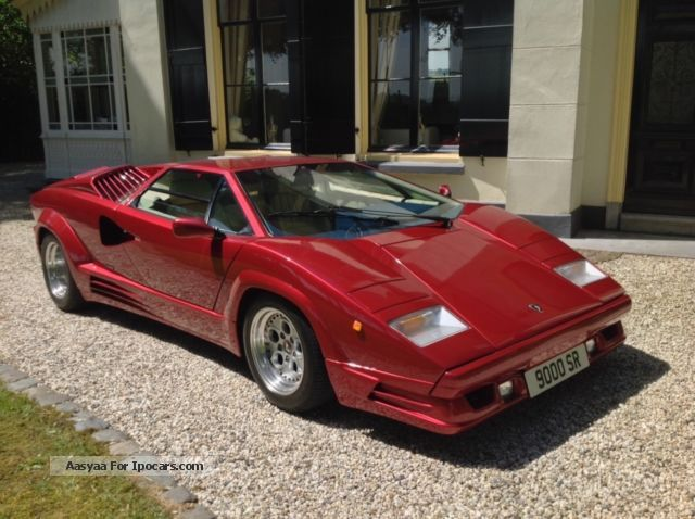 1989 Lamborghini  Countach Sports Car/Coupe Used vehicle ( Accident-free ) photo
