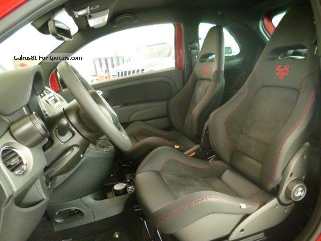 2015 Abarth 500 Sports Seats Kit Estetico Bi Xenon PDC Small Car
